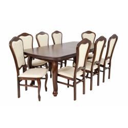 8 krzeseł D-3 + rozkładany...
