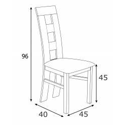 Krzesło tapicerowane K-42