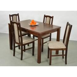 Kolorystyka na zdjęciu: • stół: orzech • krzesło: orzech, obicie 2