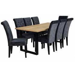 Zestaw 8 krzeseł Baron z...