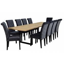 Zestaw 10 krzeseł Baron z...