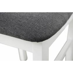 Kolorystyka na zdjęciu: • krzesło: białe/obicie nr 11