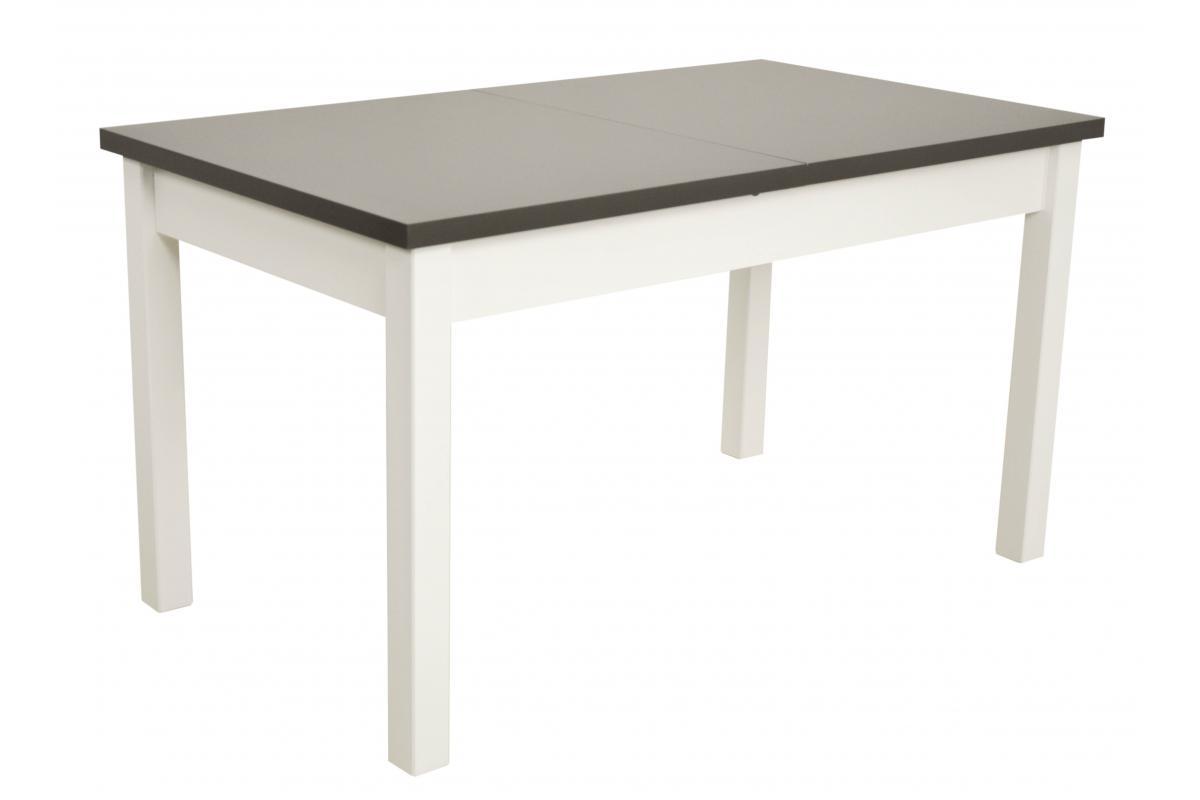 Kolorystyka na zdjęciu: • stół: biały/blat grafit
