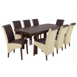 Zestaw Hjalmaren 8 krzeseł...