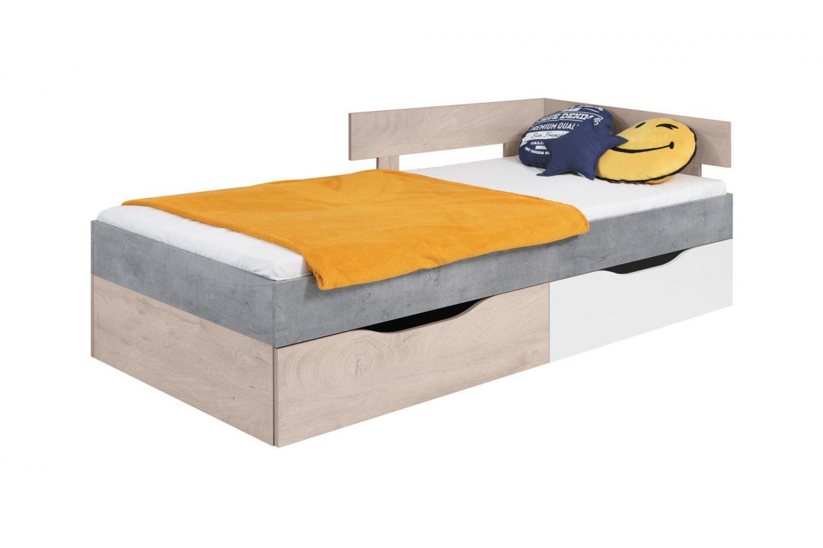 Łóżko młodzieżowe SYSTEM SIGMA 15 90x200