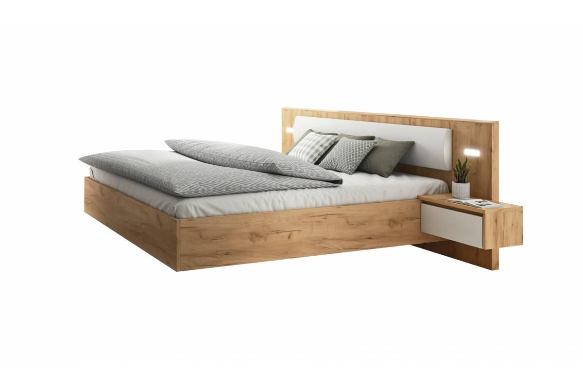 Łóżko 160x200 ze stolikami FOXE