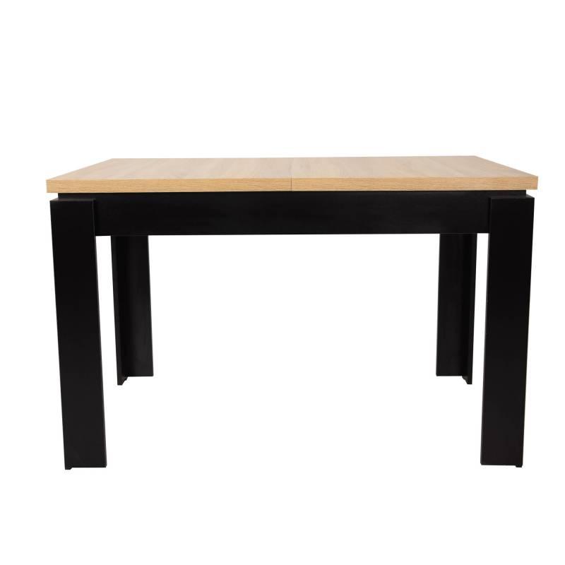 Stół czarny/blat sonoma