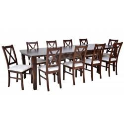 10 Krzeseł K-22 + stół S-26...