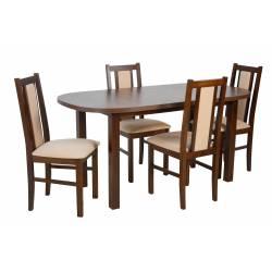 4 krzesła B-14 i stół WP-1...