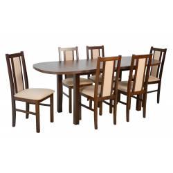 6 krzeseł B-14 i stół WP-1...