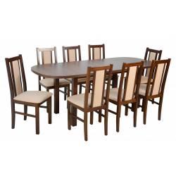 8 krzeseł B-14 i stół WP-1...