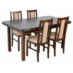 4 krzesła B-14 i stół WP-5...