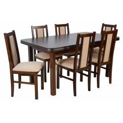 6 krzeseł B-14 i stół WP-5...