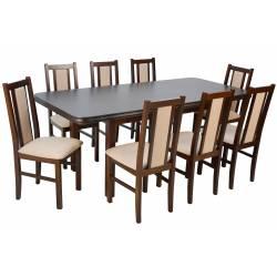 8 krzeseł B-14 i stół WP-5...