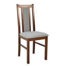 Krzesło B-14 orzech, szara...