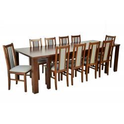 Zestaw Huron 10 krzeseł...