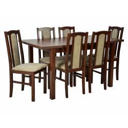 Zestaw Onega 6 krzeseł B-7...