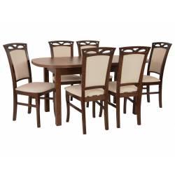 Zestaw 6 krzeseł K-12 i...