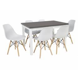 Zestaw Mjorn 6 krzeseł SL-1...