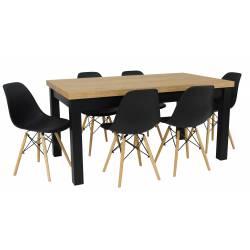 Zestaw MJORN 6 Krzeseł SL +...