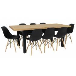 Zestaw MJORN 8 Krzeseł SL +...
