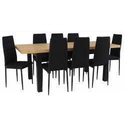 Zestaw LOBNOR 8 Krzeseł...