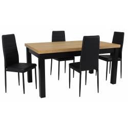 Zestaw LOBNOR 4 Krzesła...