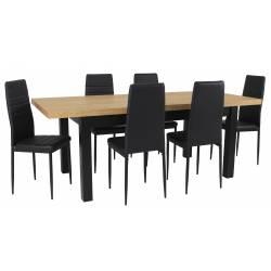 Zestaw LOBNOR 6 Krzeseł...