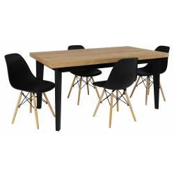 Zestaw MJORN 4 Krzesła SL +...