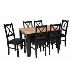 Zestaw 6 krzeseł N-10...