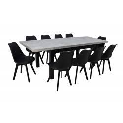Zestaw 10 Krzeseł SL-2 +...