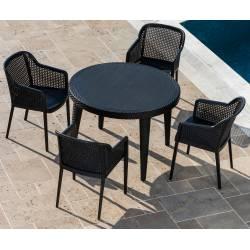 Zestaw Ogrodowy 4 Krzesła...
