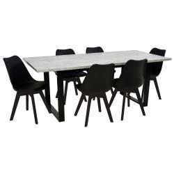 Stół rozkładany Nefro BETON...