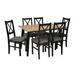 Stół rozkładany OSLO 11 DĄB...