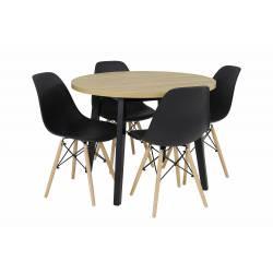 Zestaw 4 krzeseł SL-1...