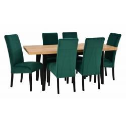 Zestaw 6 krzeseł Rimini...