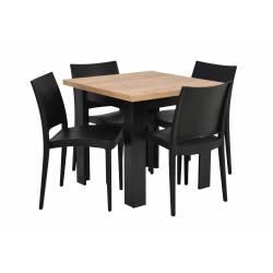 Zestaw 4 krzeseł SPECTO...