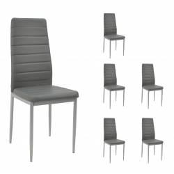 6x Krzesło CH-3 Ekoskóra...