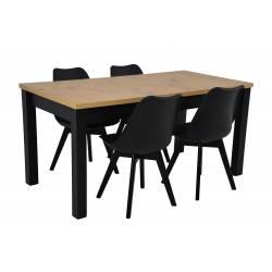 Zestaw 4 krzeseł SL-2...