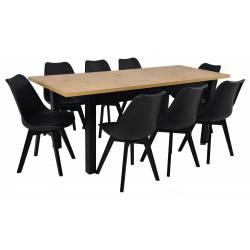 Zestaw 8 krzeseł SL-2...
