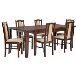 Zestaw 6 krzeseł B-7 + stół...
