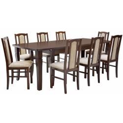 Zestaw 8 krzeseł B-7 + stół...