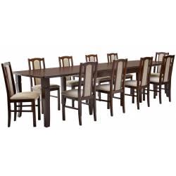 Zestaw 10 krzeseł B-7 +...
