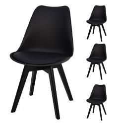 4x Krzesło SL-2 Czarne,...