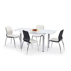 Stoły z krzesłami - nowoczesne zestawy i pojedyńcze stoły z krzesłami