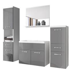 Szafki łazienkowe - nowoczesne szafki do łazienki wiszące oraz lustrem
