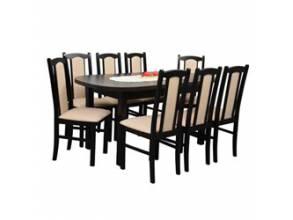 Stoły do jadalni z 8 krzesłami | meble-focus.pl