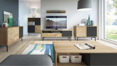 Nowoczesne meble do salonu — jak urządzić mieszkanie na czasie